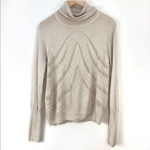 Anthropologie Angel of the North Sweater Med